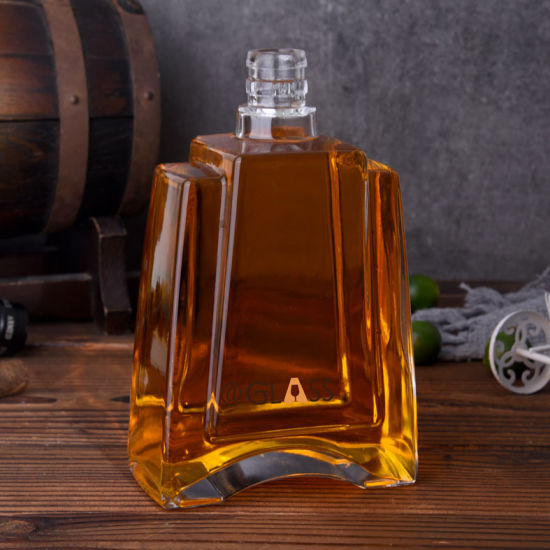 Classic Xo Glass Bottle with Cork