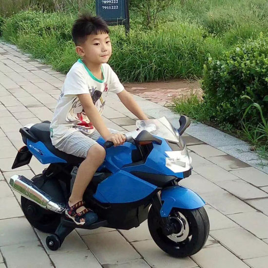 Ride on Car Toys Three Wheels Children Electric Motorcycle with Musics