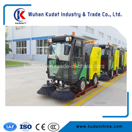 Brand New Diesel Fuel Vacuum Road Sweeper for Parking Lot with Ce (5021TSL) pictures & photos