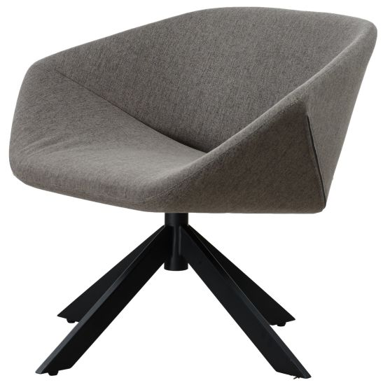 Moulded Foam Soft Upholstery Hotel Revolving Chair