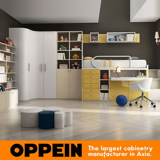 Oppein Customized Kids Furniture Set For Study Room Or Bedroom Op16 Kid02