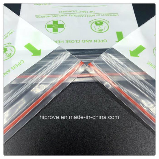 High Quality with Customized Printing Resealable Medical Zip Lock Bag pictures & photos