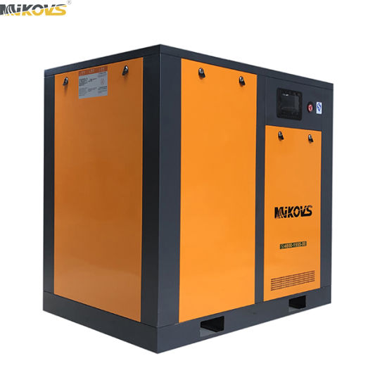 High Efficiency Direct Coupling Drive Double Screw Air Compressor (7.5-400KW)