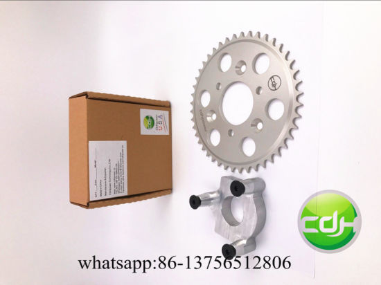 44 Tooth CNC Sprocket & Adapter Assembly for Sales pictures & photos
