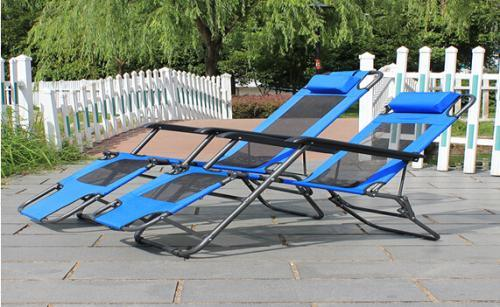 Folding Chair/Folding Bed with Mesh for Two Usages (ET-CHO103-JW)