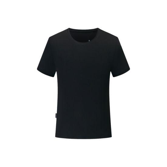 Wholesale Customized Solid Color T-Shirt Multi Color Breathable Cotton Men's T-Shirt