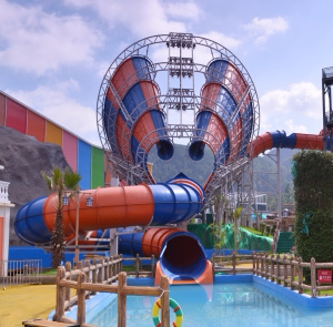 Super Tornado, Thrill Funnel Water Slide for Water Park (WS-012)