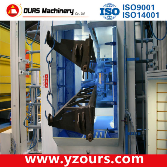 Automatic Powder Coating Production Line for Steel Products pictures & photos