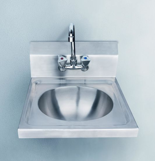 Commercial Utility Sink, Kitchen Sink, Laundry Sink, Stainless Steel Hand  Sink With Backsplash Splash Board (T05 1)