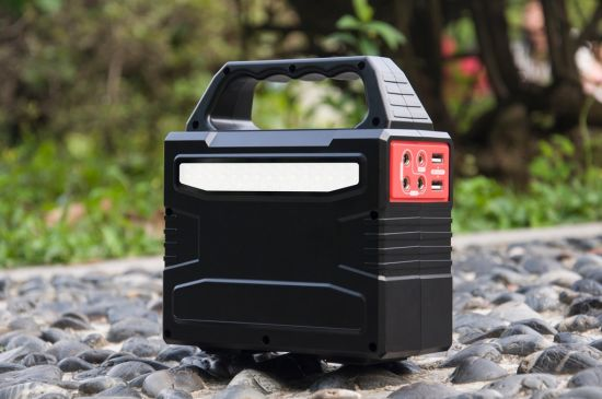 150Wh Mini Solar System Portable Solar Power Generator for Home Emergency/Outdoor pictures & photos