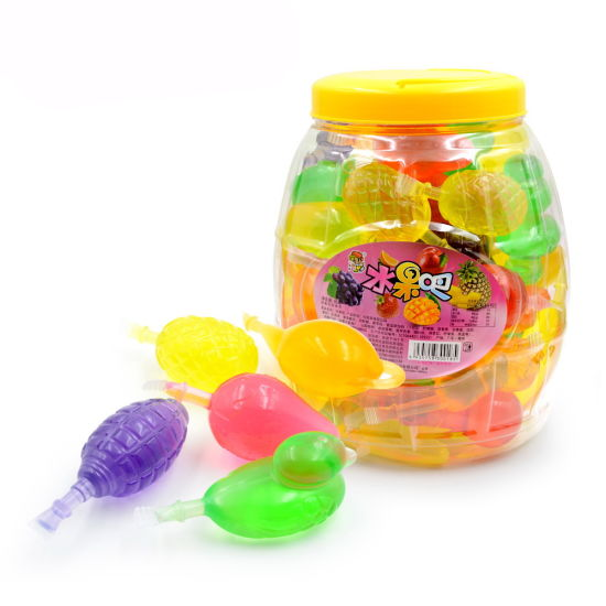 New Ice Cream Bottle Fruit Candy with Spray