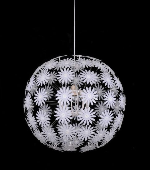 Decorative Plastic Flower Ball Pendant Light pictures & photos