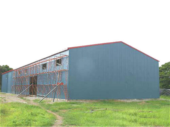 Pre-Engineered Light Steel Structure Corn Harvest Building (KXD-CH30) pictures & photos