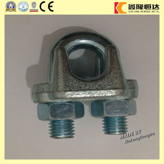 DIN 741 Hot DIP Galvanized Wire Rope Clips