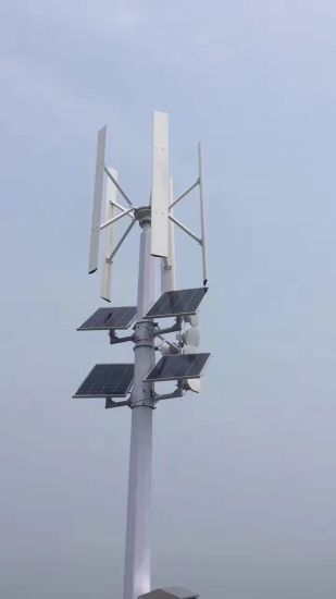 AC-96V Three-Phase 3kw Vertial Axis Wind Power Turbine (SHJ-VH3000) pictures & photos