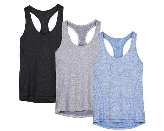 55e0389ec9caa6 Woman′s Athletic Running Yoga Racerback Tank Top with Dry-Fit Function  pictures