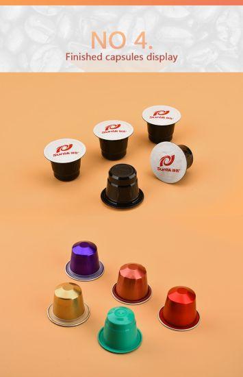 Empty Aluminum Coffee Capsule For Nespressok Cuplavazza In Multi Color
