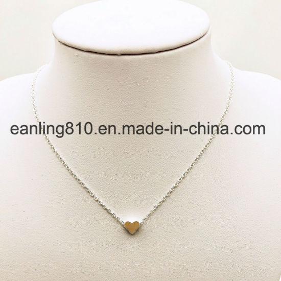 Tiny Heart Pendant Mini Heart Charm Necklace Fashion Jewelry