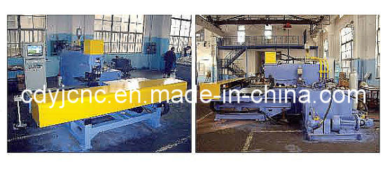 Medium Thick CNC Plate Punching Machine pictures & photos