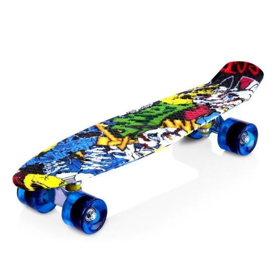 China Custom Logo Skateboard Deck Banana Board for Sale for