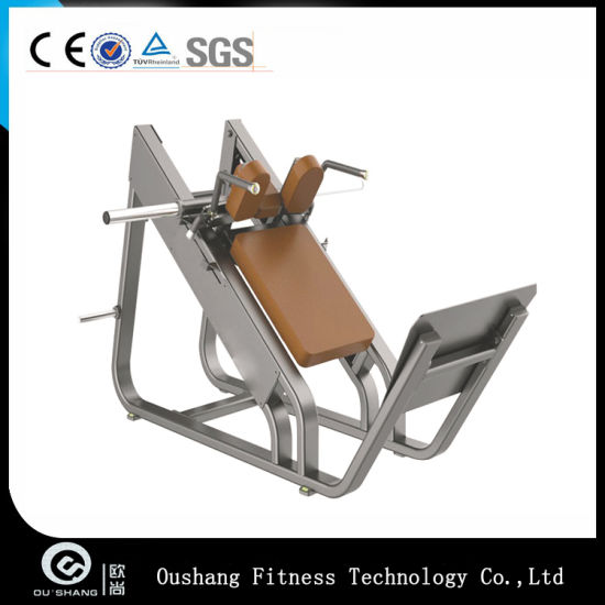 Fitness Equipment Pin Loaded Machine for Gym Used Hack Squat