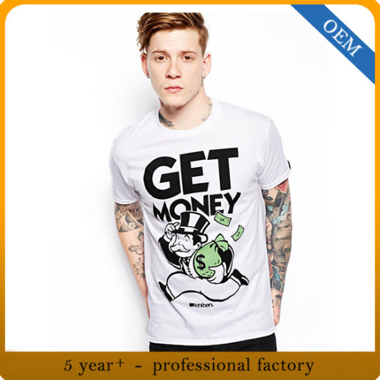 China Factory Design Your Own Novelty Graphic Tee Shirt