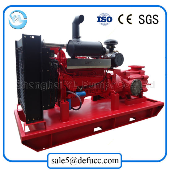 Multistage Diesel Engine Transfer Chemical Sewage Centrifugal Pump pictures & photos
