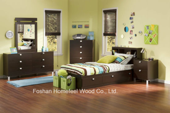 Kids 5 Pieces Bedroom Furniture Set pictures & photos