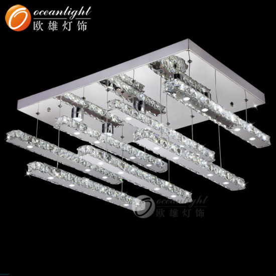 Modern Crystal Indoor Lighting Decoration Crystal Ceiling Lights