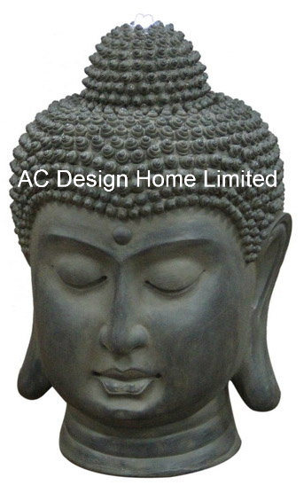 Very China Polyresin Buddha Statue Outdoor Large Garden Water Fountain  LA22