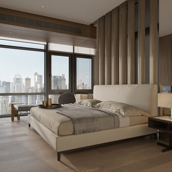 [Hot Item] Chinese Modern Customized Resort Dubai Use Cheap Bedroom  Furniture Hotel