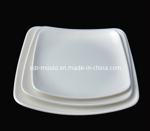 Plastic Fruit Plate Various Colorful Plate Injection Mould