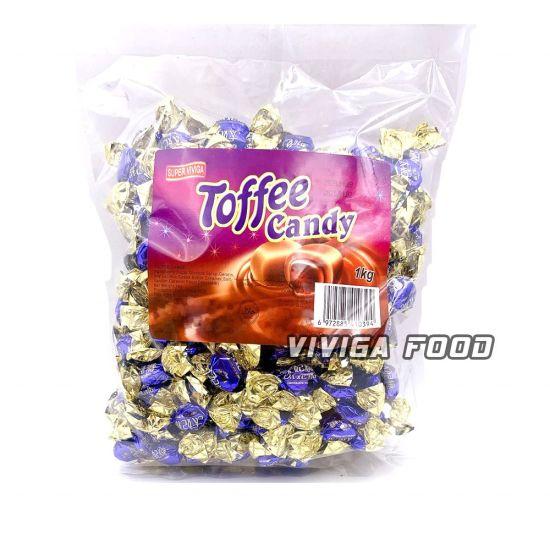 1kg Bulk Soft Toffee Candy