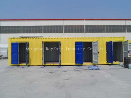 40hq Storage Container with Four Double Door Container pictures & photos