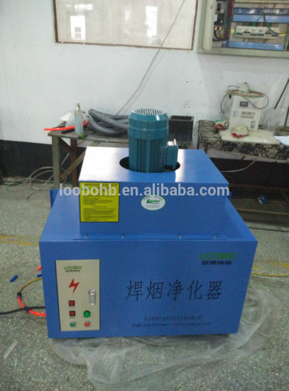 Wall Mounted Welding Smoke Purifier with One/Two Fume Arms pictures & photos