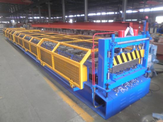 New Customized Automatic High Speed PPGI PPGL Floor Deck Roll Forming Machine Factory Price with ISO9001/Ce