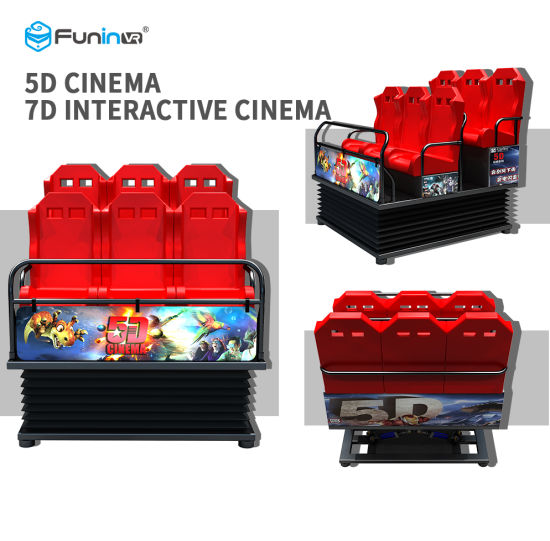 Guangzhou Hot Sale Xd Cinema Sumilator 7D Cinema 9d Movies