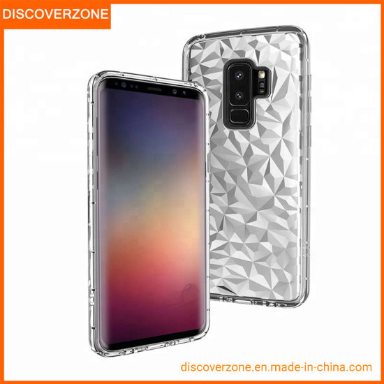 Hot Selling Factory Supplier Mobile Phone Case for Samsung S9 Note10 Diamond Pattern Phone Cover