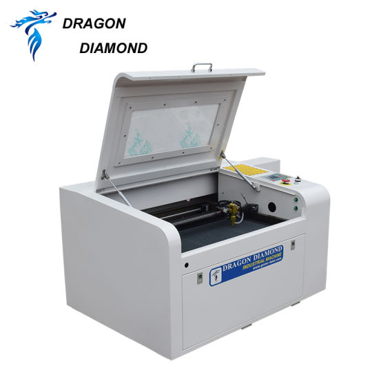 Laser Equipment CO2 Cutting Machine Desktop for Wooden Crafts Processing
