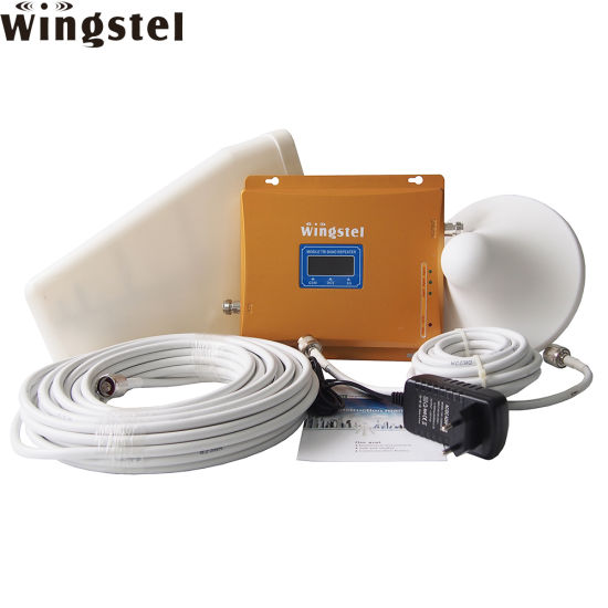 Factory Triband GSM 2g 3G Lte 4G Mobile Signal Booster Wireless Cell Phone Signal Repeater with LCD