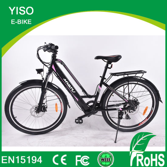 Electric Bicycle 36V10ah 250W DC Motor City Ebike Lightweight Electric Assist Bike PAS Bike