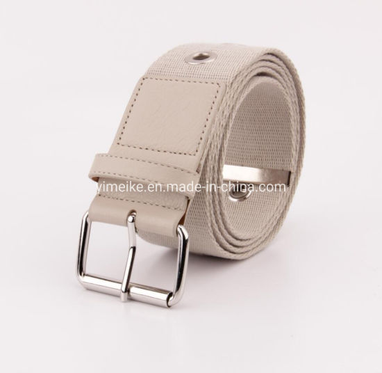 Good Quality Unisex Men Lady Canvas Hollow out Fabric Belt