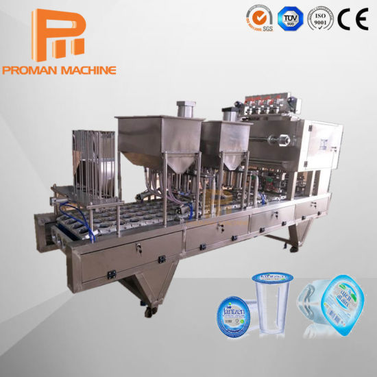 Ce Standard Manufacture Full Automatic Liquid Cup Filling Sealing Machine pictures & photos