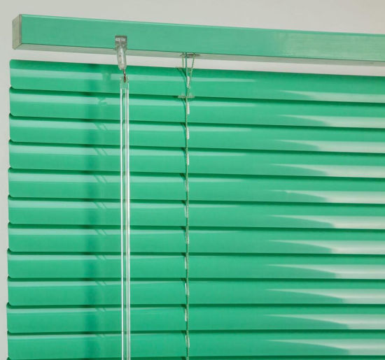 Wholesaler Waterproof 25mm Aluminum Jalousie Venetian Blinds and Shade pictures & photos