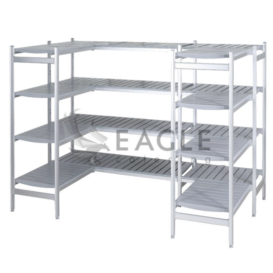 Commercial Aluminum Composite Shelving Layer Frame Shelf