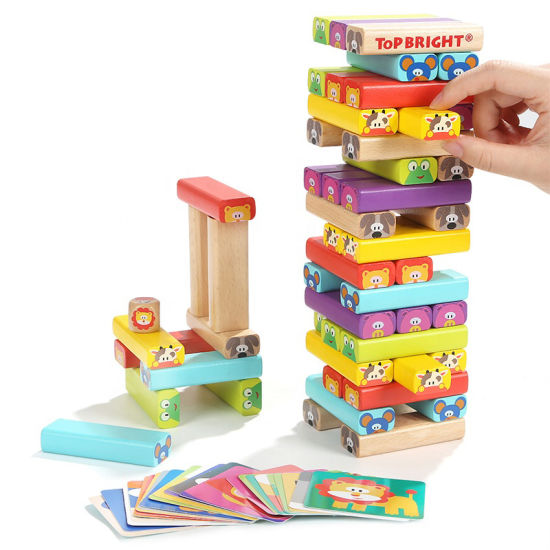 Friendly Wood Toys Wooden Building Toy Blocks For Kids Educational Toys Card China Blocks And Educational Toys Price Made In China Com