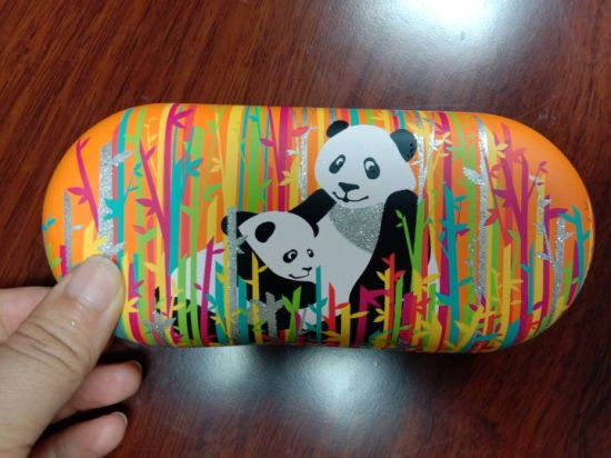 Special Design Portable Shockproof EVA Storage Case for Eyeglasses with Customized Screen Print Logo