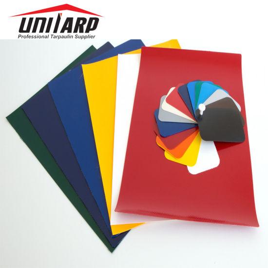 1000d 20*20 650GSM Industrial PVC Tarpaulin Fabrics for Tent Truck Cover