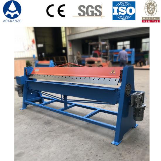 Dws-1.5*2500 Sheet Metal Folding Bending Edge Manual Steel Folding Machine