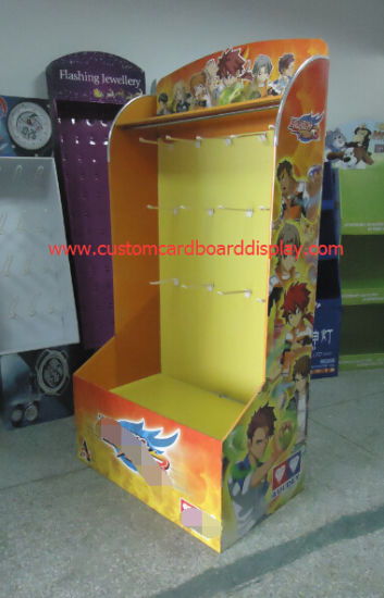4c Offset Printed Customized Cardboard Floor Display for Game Products pictures & photos